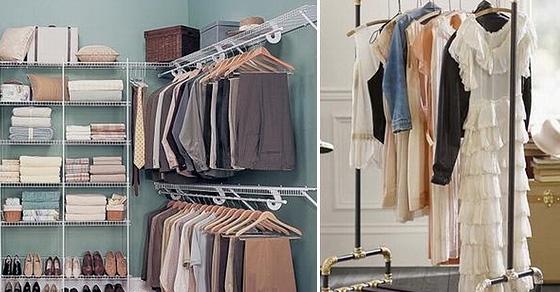 18 оптимальных идей, как лучшим образом организовать свой гардероб