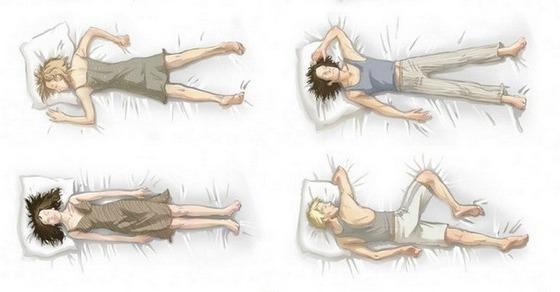 6 основных поз сна, которые могут много чего рассказать о человеке