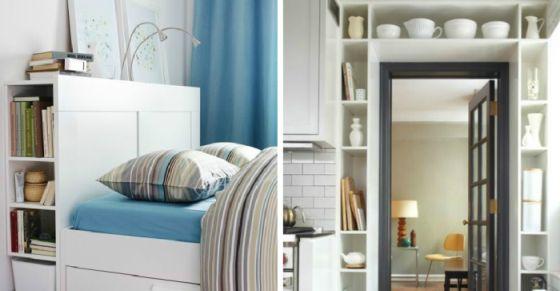 17 гениальных идей, которые сделают маленькую квартиру более функциональной и просторной