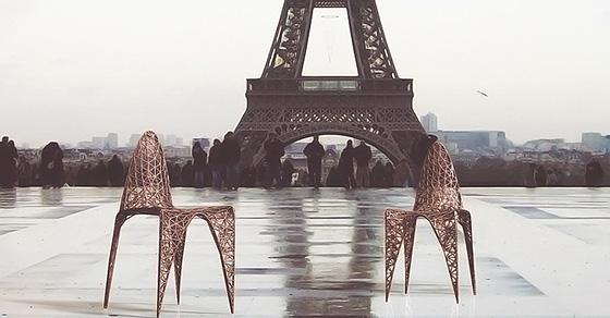 Мебель будущего: 5 завораживающих примеров, напечатанных на 3D-принтере