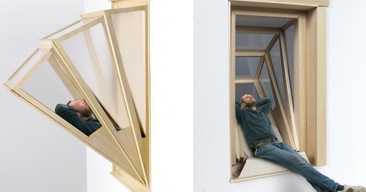 Окно-трансформер, которое можно превратить в балкон за считанные секунды