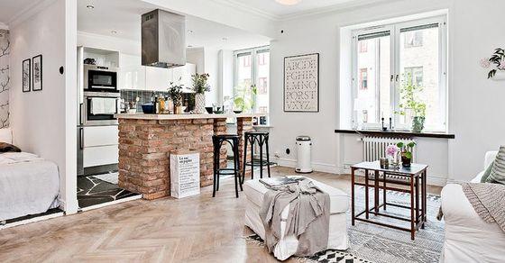 Как сделать из старой квартиры настоящую конфетку: реальный пример из Швеции
