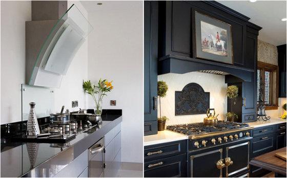 Советы дизайнера: какую вытяжку на кухню выбрать и как её правильно установить