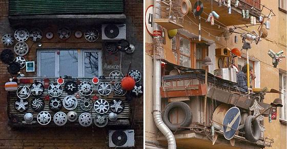 Чудеса архитектуры и дизайна: 20 удивительных русских балконов