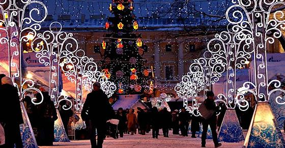 Сказочная атмосфера: 18 примеров потрясающих рождественских декораций со всего мира