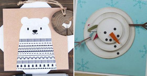 Подарок с душой: 17 замечательных новогодних открыток, которые можно сделать своими руками