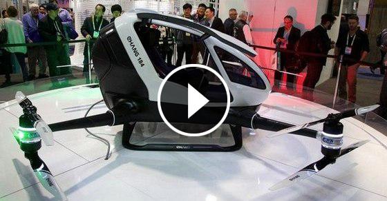 Летательный аппарат, который позволит отказаться от машин и подняться в воздух