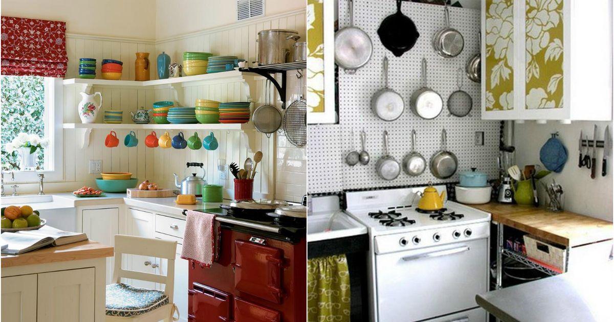 9 актуальных приёмов для маленькой кухни
