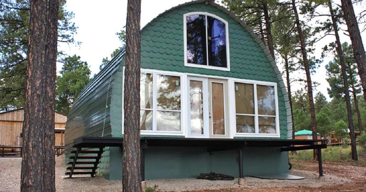 Арочный дом - доступное жилье по стоимости телефона