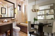 Идеи вашего дома: Как сделать интерьер больше: 7 реальных примеров того, как зеркало может изменить пространство