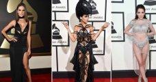 Fashion: 25 самых эффектных образов музыкальной премии Grammy 2016