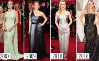 Fashion: Оскар: как менялись образы звёзд на протяжении лет