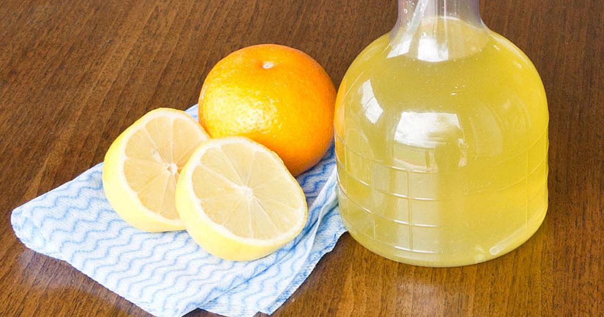 Чистящее средство для кухни своими руками