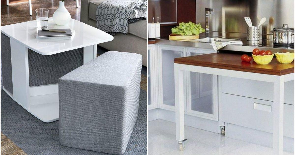 Стол для маленькой квартиры: 9 самых эргономичных моделей