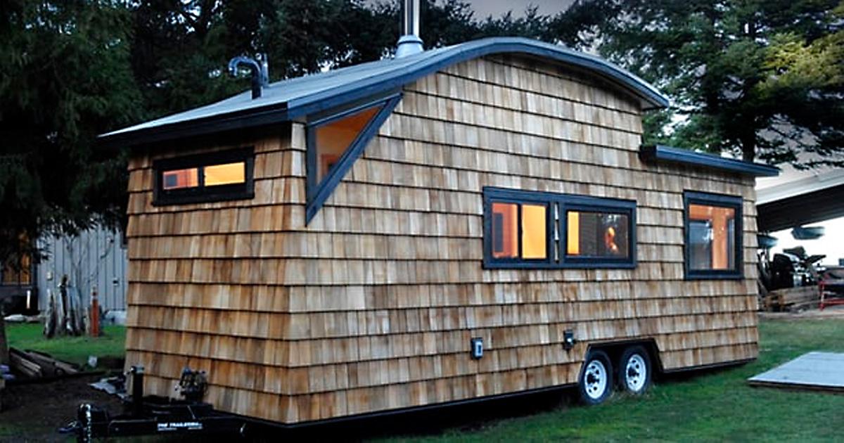 Дом на колёсах, в котором есть всё для комфортной жизни