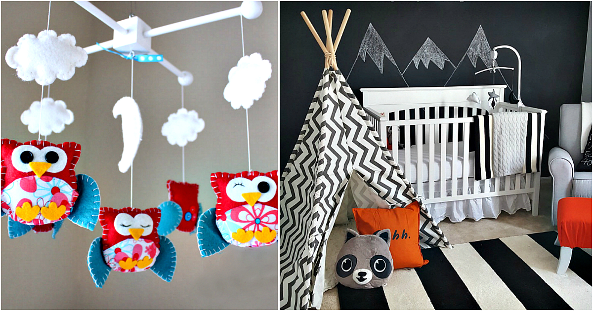 В мире сказочных грез: 18 идей красочного декора детской комнаты