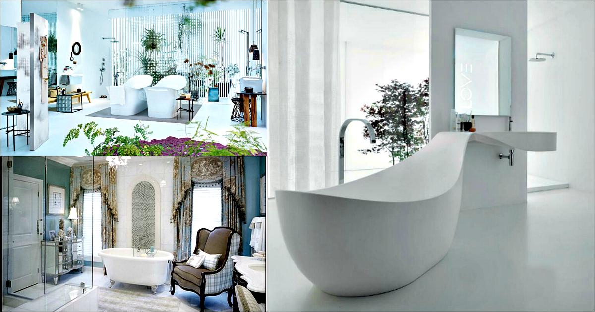 Дизайн ванной в светлых тонах фото современный стиль