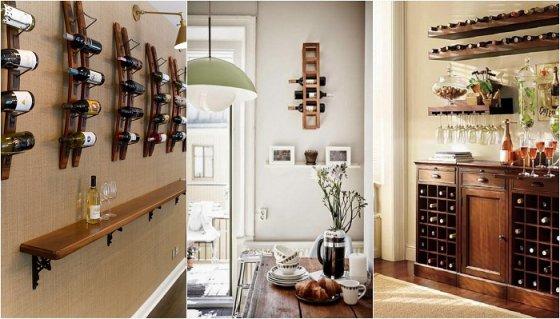 Хранение вина в квартире: 30 креативных идей