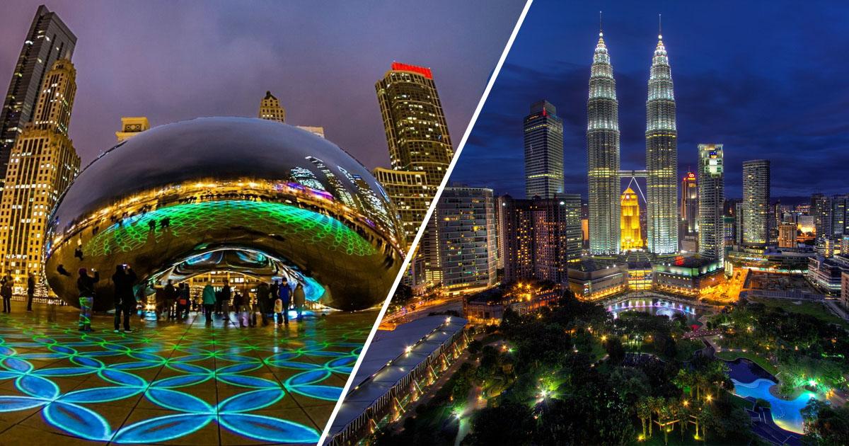 25 самых современных городов в мире, которые поражают развитием технологий