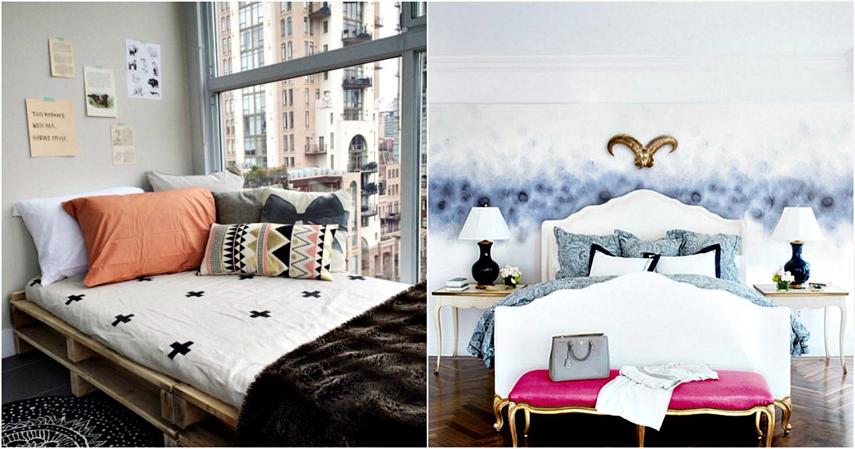 Мир снов и грез: 17 действенных советов и схем обустройства небольшой спальни