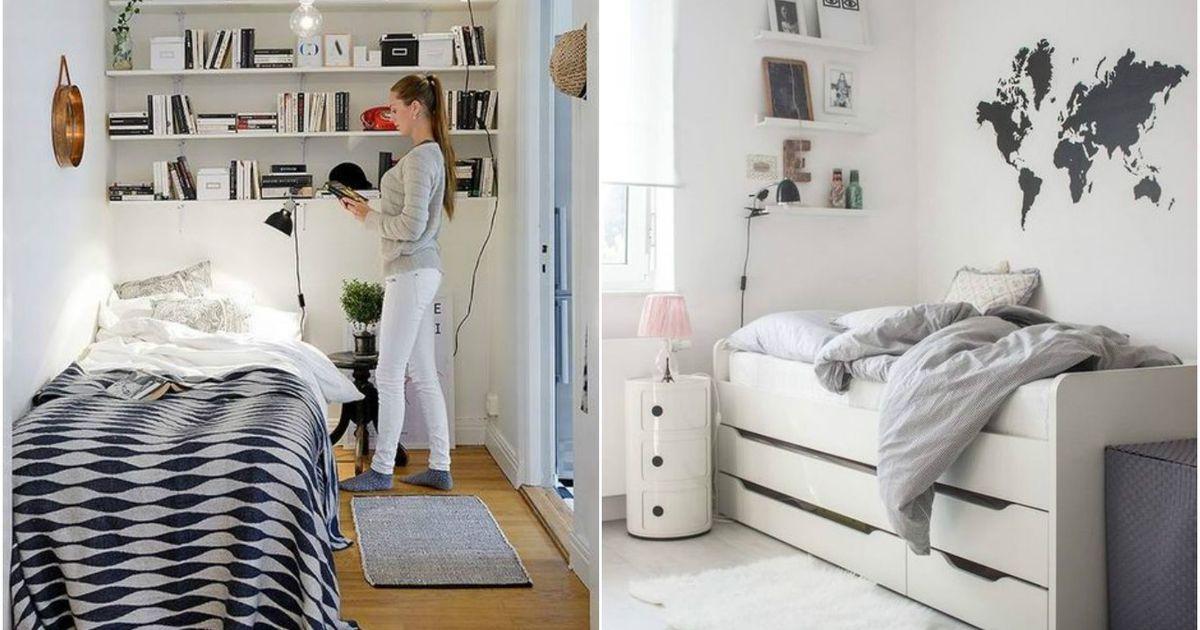 Интерьер маленькой спальни: 10 вдохновляющих и очень крутых примеров