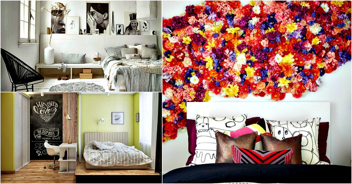 Комната с характером: 19 смелых примеров и актуальных идей оформления спальни