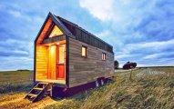 архитектура грамотная планировка лишнего домик колесах площадью метров