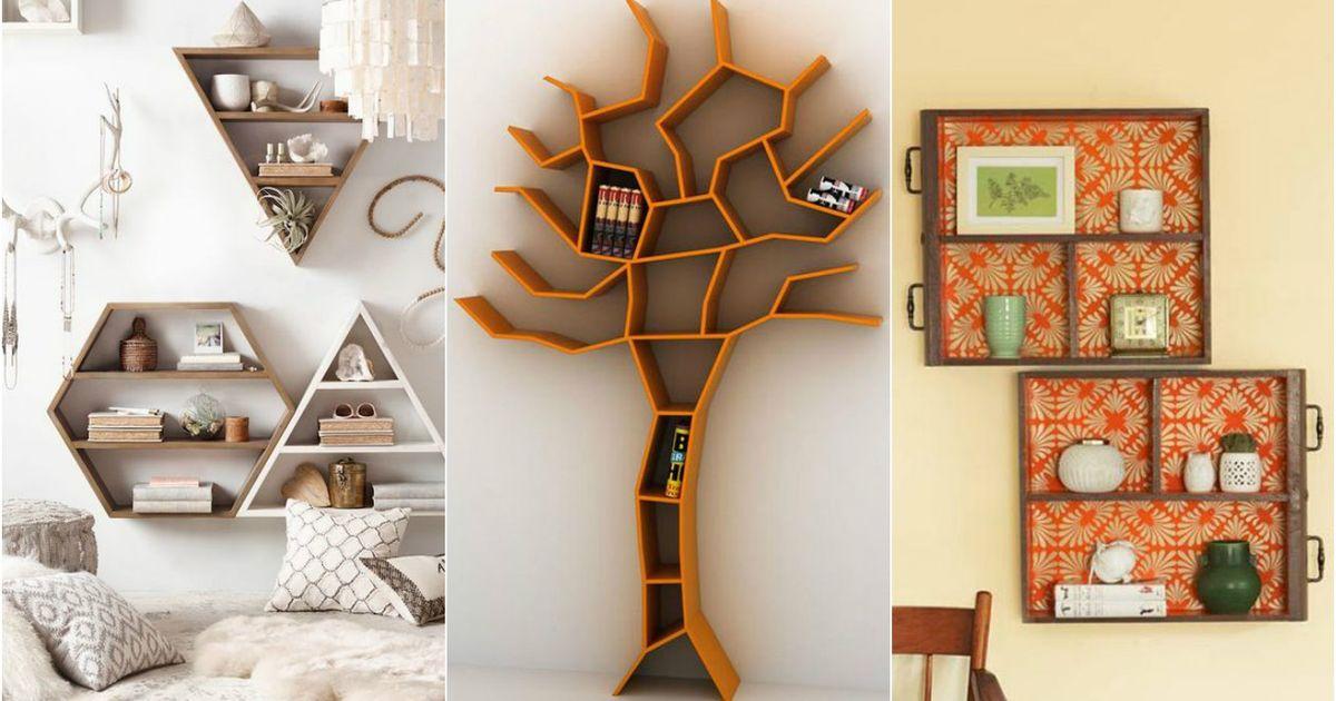 10 крутых и необычных по дизайну полок, которые преобразят любой интерьер