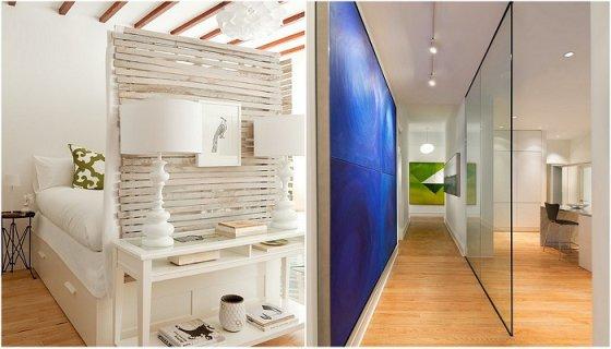 Крутые идеи для зонирования пространства в любой комнате