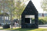 архитектура домик площадью метров вариант временного жилища обездоленных
