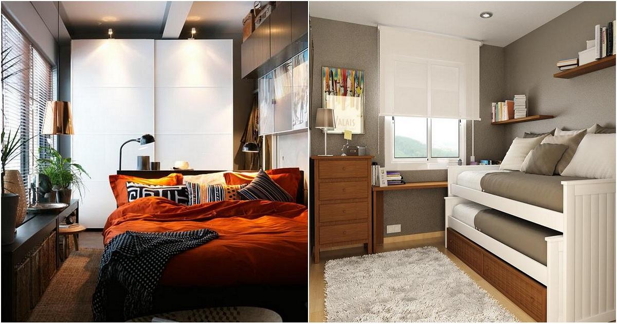 Как правильно организовать маленькую спальню
