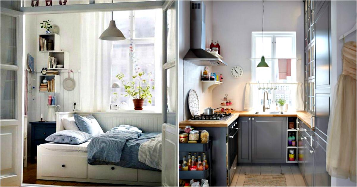 15 гениальных идей, которые помогут выжать максимум из маленькой квартиры