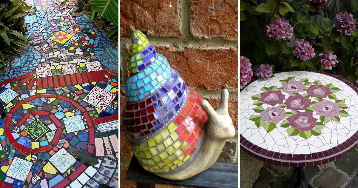 Идеи из остатков керамической плитки