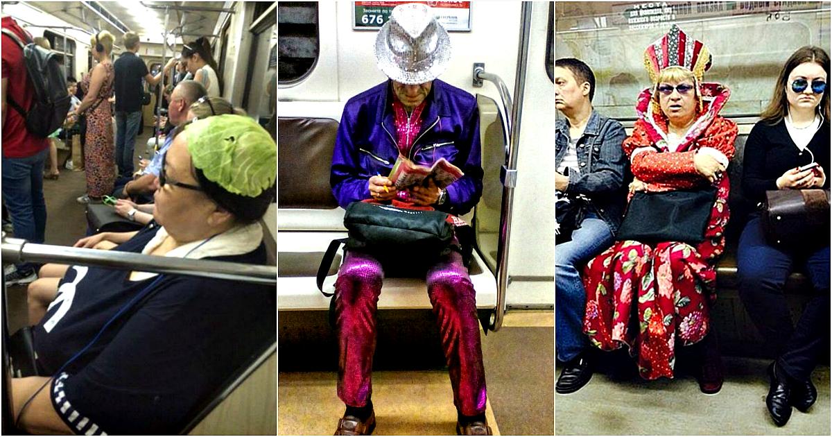 17 умопомрачительных снимков, которые доказывают, что метро круче любого модного подиума
