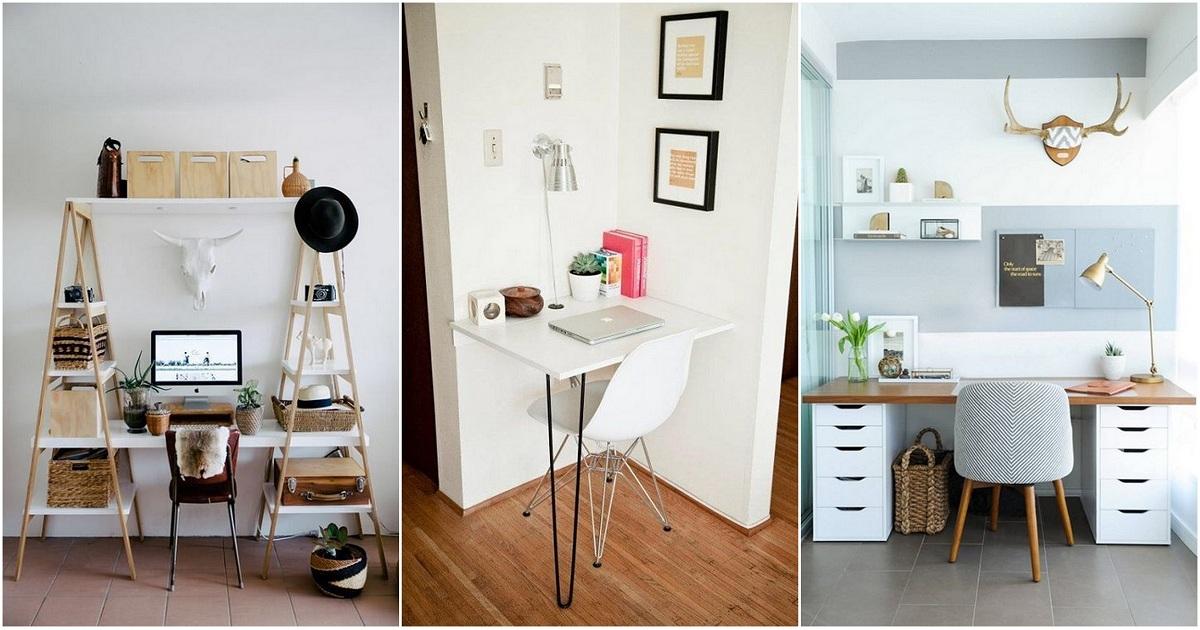 Оригинальные примеры оформления мини-офисов дома, которые преобразят интерьер