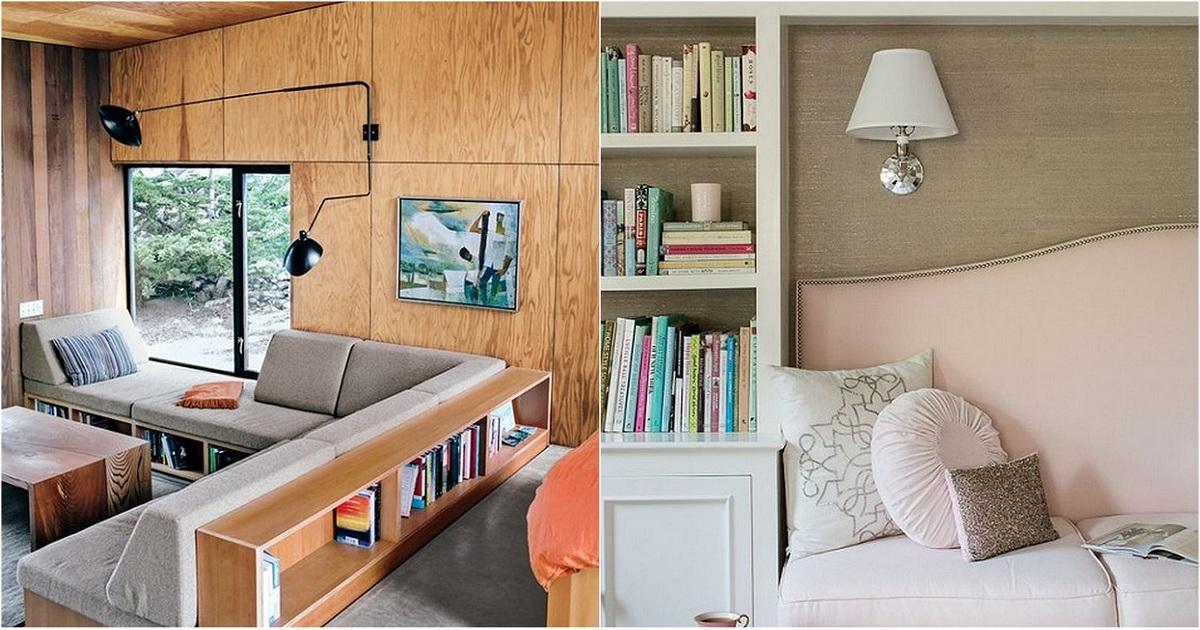 Экономия пространства в доме при помощи встроенных модулей