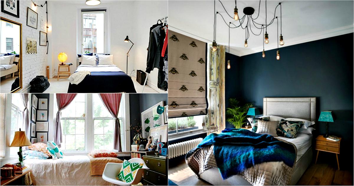 Стиль, уют, очарование: 18 потрясающих идей дизайна небольшой спальни
