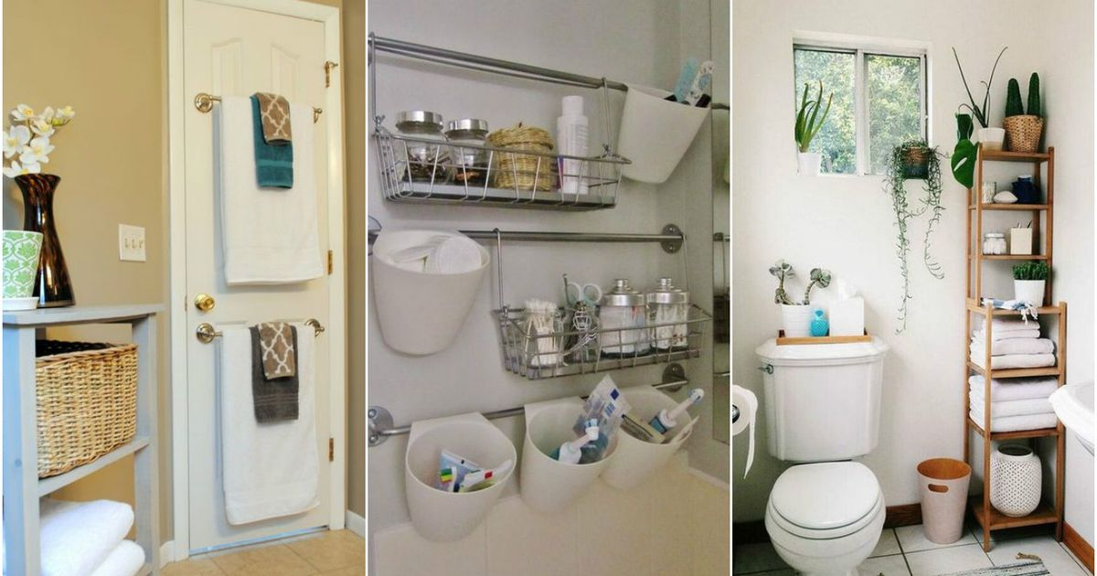 Хранение в маленькой ванной: 10 крутых примеров организации пространства