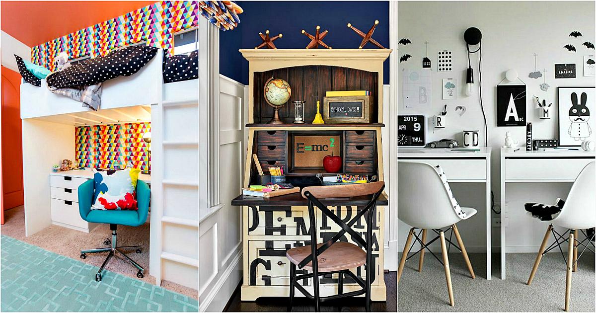 17 интересных примеров оформления комнаты школьника, на которые стоит взглянуть всем родителям