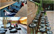 Архитектура: 25 удивительных арт-скамеек, украшающих разные города мира
