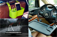 Промышленный дизайн: 16 полезных автомобильных аксессуаров, которые сделают поездки комфортней