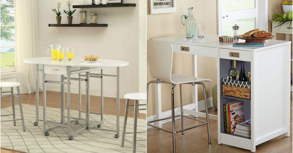 10 крутых компактных столов для маленького пространства