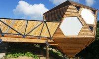 Архитектура: Деревянные эко-домики: отличное решение для любителей агротуризма