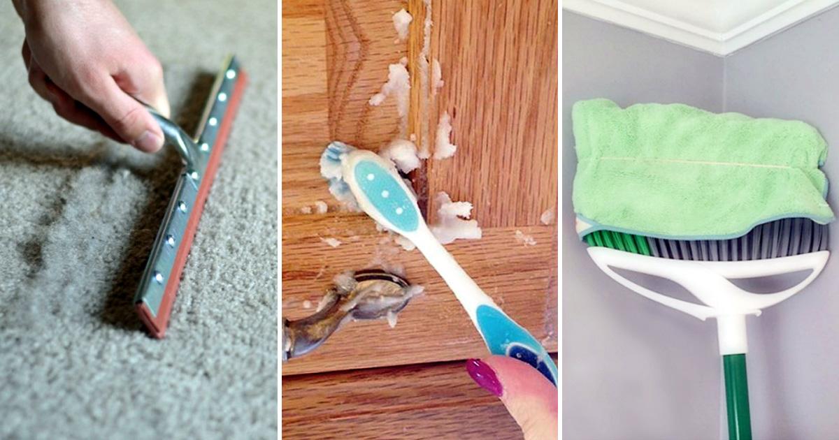 17 простых хитростей, которые помогут быстро навести чистоту в каждом уголке квартиры