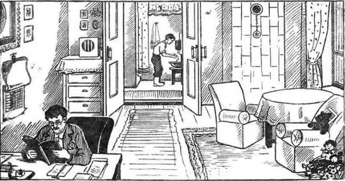Головоломка из советского журнала для школьников, которую не могут решить взрослые