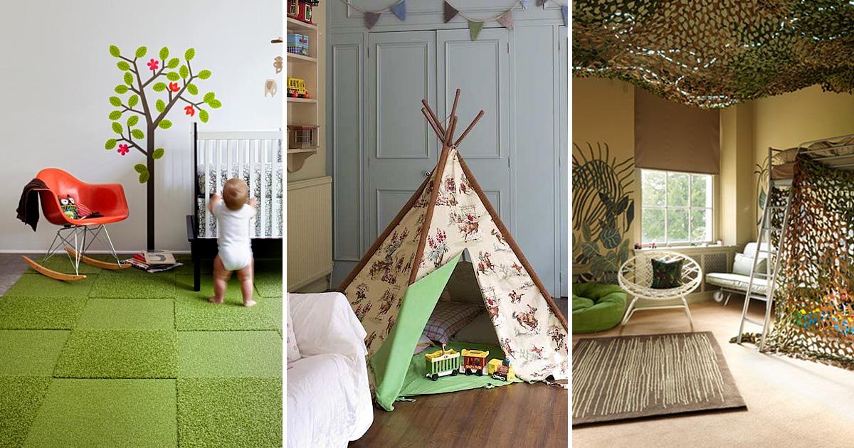 7 вдохновляющих идей декора, которые превратят обычную детскую в комнату мечты ребенка
