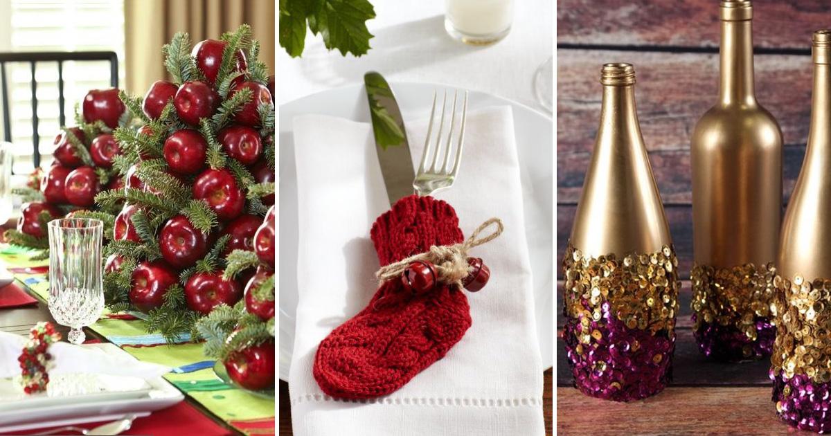 15 ярких идей декора новогоднего стола, чтобы впечатлить гостей и создать праздничное настроение