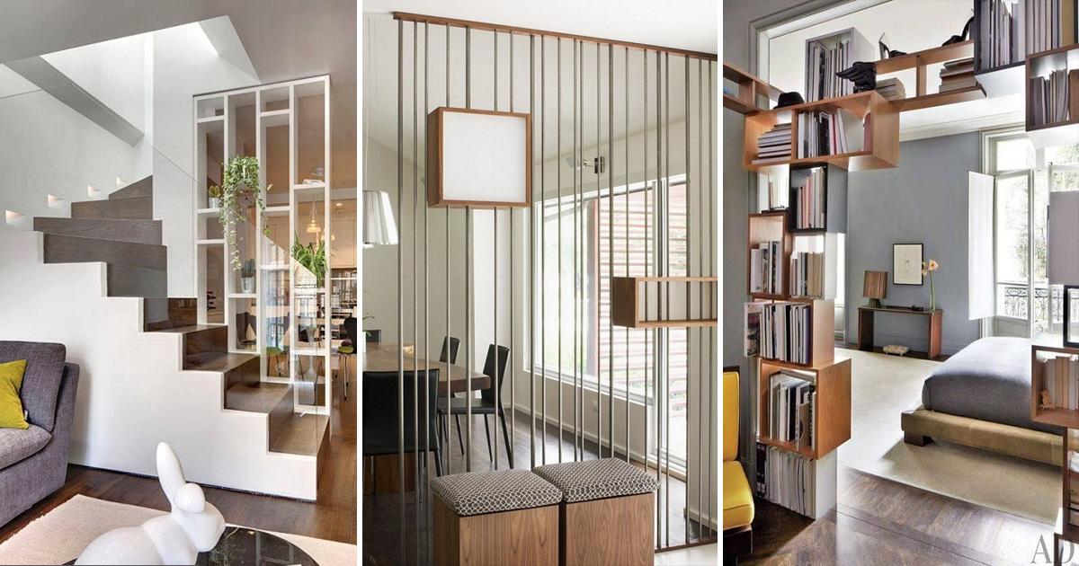 Оригинальные и практичные идеи зонирования пространства в комнатах: 25 ярких примеров