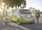 Компания Volkswagen побаловала автомобилистов новым электронным минивэном
