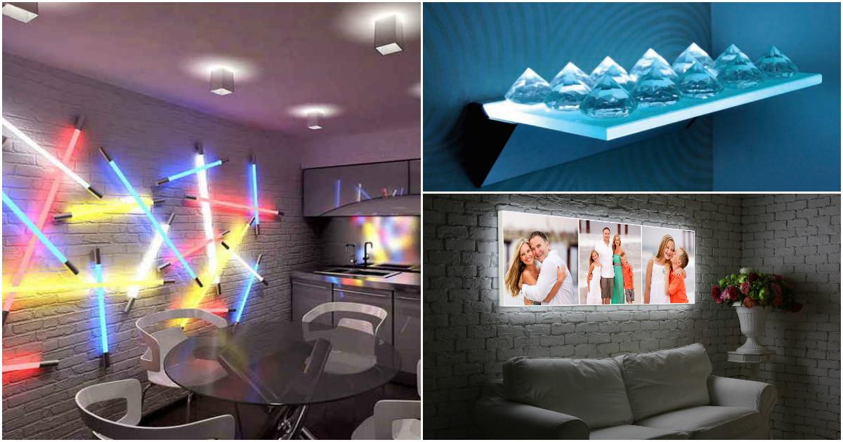 14 восхитительных идей для освещения квартиры, которые преобразят интерьер
